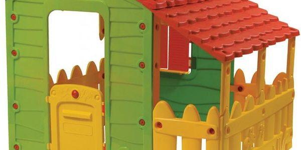 Prostorný dětský domeček Buddy Toys BOT 1130z kvalitního plastu