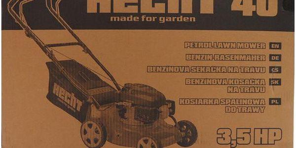Benzínová sekačka bez pojezdu Hecht 402