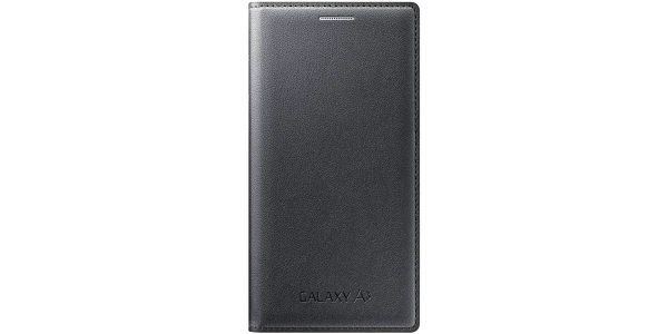 Pouzdro na mobil flipové Samsung pro Galaxy A3 (EF-FA300B) (EF-FA300BCEGWW) černé
