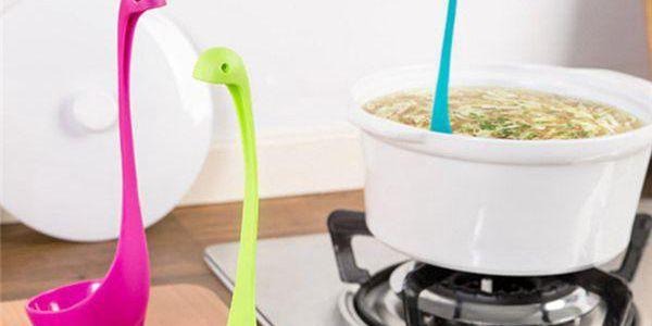 Plastová naběračka Nessie - dodání do 2 dnů