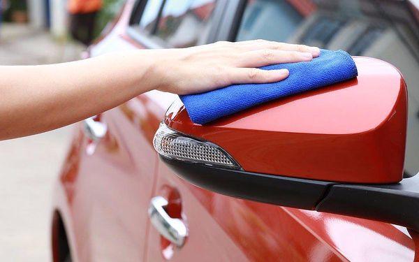 Eco ruční mytí vozu včetně disků kol