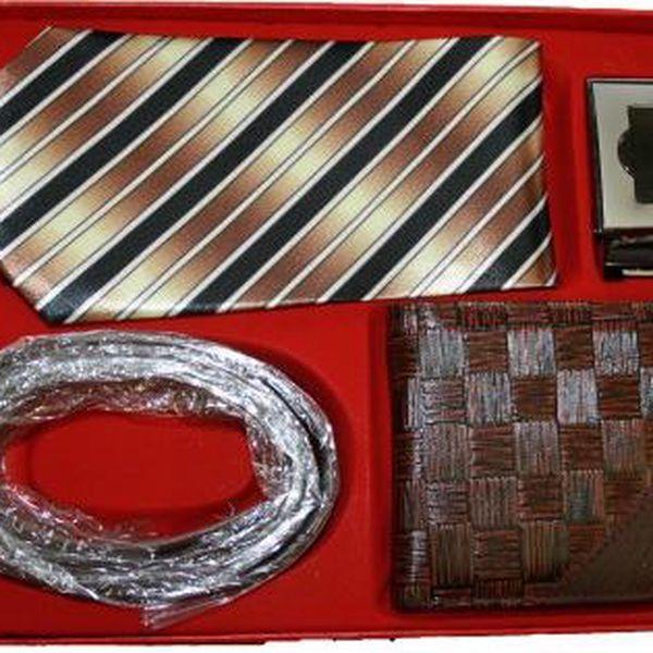 Kravatový set s peněženkou