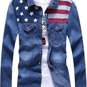 Americká jeans košile