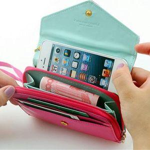 Peněženka a pouzdro na mobil 2v1!
