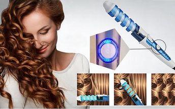 Magic Spiral kulma na vlasy pro dokonalé lokny!