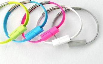 Barevný náramek USB - kabel vždy po ruce!