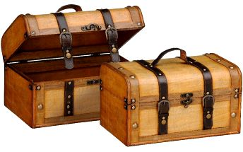 Set 2 boxů Storage - doprava zdarma!