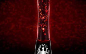 Lávová lampa Galaxy Battle Star Wars