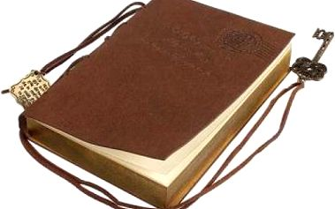 Kožený retro zápisník
