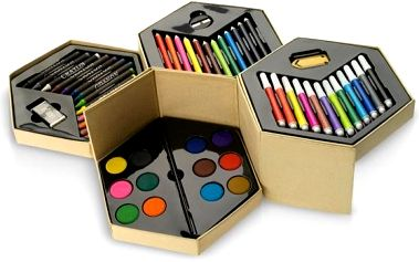 Velká výtvarná sada pro vaše malé umělce!