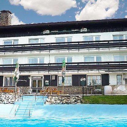 5 či 6denní pobyt pro dva se snídaněmi v hotelu Kolibřík na Šumavě