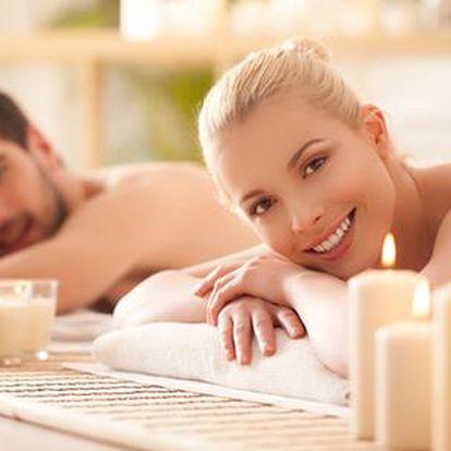 Prvotřídní 50minutová masáž 2x pro 1 osobu nebo 1x pro pár