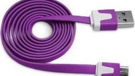 USB plochý kabel Colour!