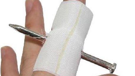 Legrační náplast na prst - vystřelte si z kamarádů!