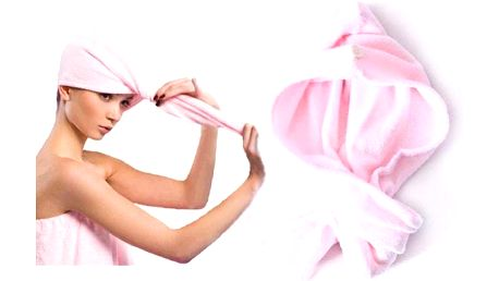 Praktický ručník na vlasy, který nesmí chybět v žádné koupelně