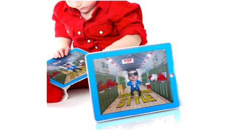 Hudební 3D tablet - Gangnam Style