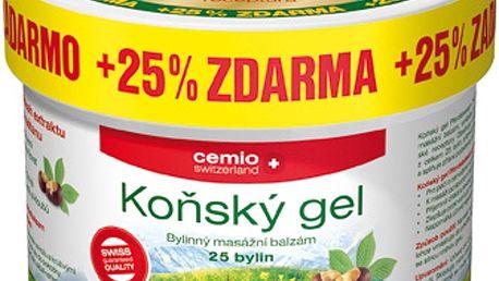 Cemio Koňský gel chladivý 400 + 100 ml ZDARMA