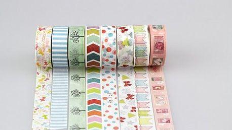 Dekorační washi pásky!