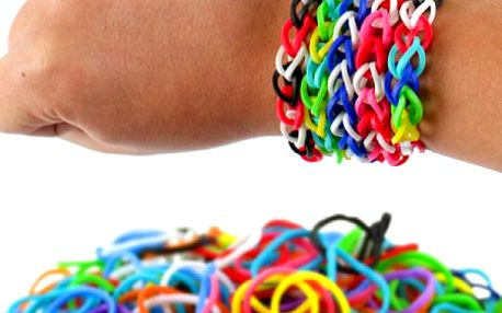 Mini sada Loom Bands gumiček!