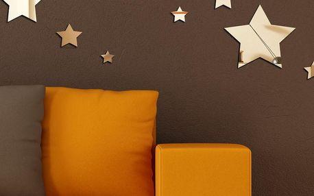 Dekorativní zrcadlo Hvězdičky
