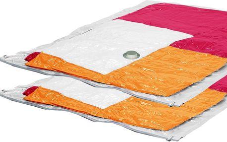 Sada 2 vakuových sáčků na oblečení Jumbo, 80x120 cm
