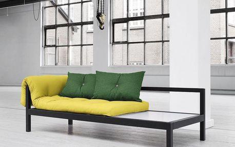 Multifunkční sofa Soul, pistacio/black - doprava zdarma!