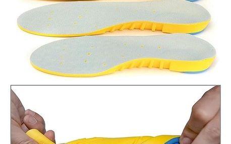 Pěnové vložky do bot pro bezbolestný pohyb