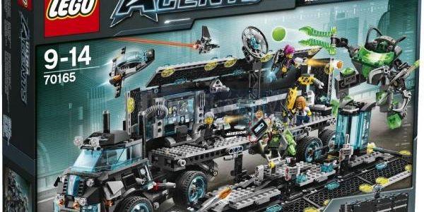 LEGO Ultra Agents 70165 Centrála ultra agentů