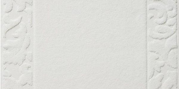 Koupelnová předložka Grace White, 50x75 cm