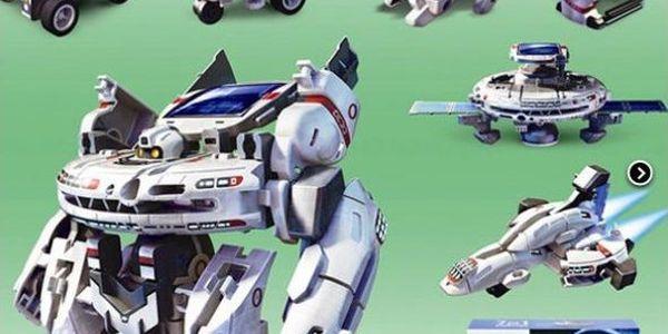 Solární hračka Vesmírná flotila!