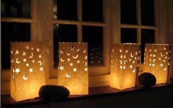 2x Dekorativní svítilny štěstí!