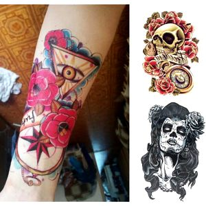 Voděodolné tetování New School velké