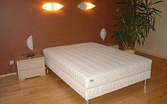 Čalouněná postel LUX + matrace + rošt, 160 x 200 cm