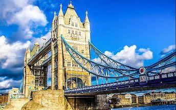 4 denní zájezd do Londýna s návštěvou ateliérů Harryho Pottera