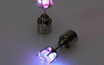 Svítící LED náušnice na párty - 1 kus - dodání do 2 dnů