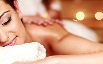 Relaxační aroma masáž v délce 60 minut
