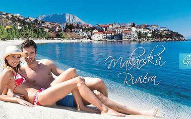 Chorvatsko, Makarská Riviéra - Podaca! 8 dní pro 1 osobu v apartmánu u moře, možnost dokoupení dopravy! Červen-září