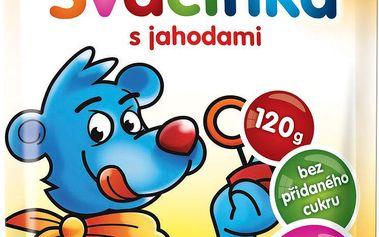 Hamánek SVAČINKA 100% ovoce s jahodami 2x120g
