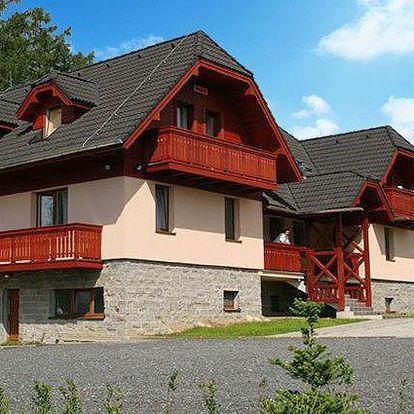 3 až 5denní pobyt pro 2 se slevou na wellness v penzionu Villa Domino ve Vysokých Tatrách