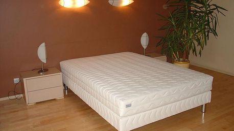 Čalouněná postel LUX + matrace + rošt, 120 x 200 cm