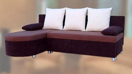 Rohová sedačka rozkládací KATEŘINA 1