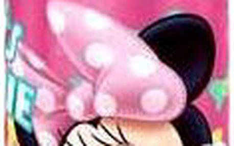 Disney ALU láhev Minnie - tmavě růžová