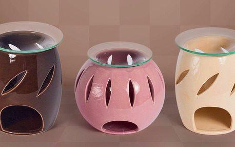Keramické aromalampy – baculaté i kulové