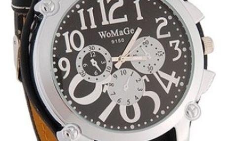 Sportovně-elegantní unisex hodinky WOMAGE - ve 3 barevných variantách