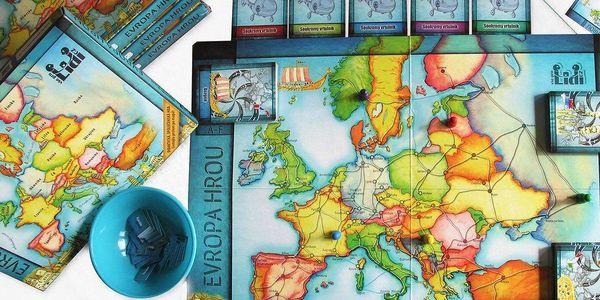 Společenská hra Evropa hrou
