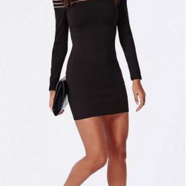 Sexy černé šaty Naomi