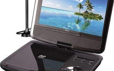 Přenosný DVD přehrávač ECG DVP 9909 HD DVB-T