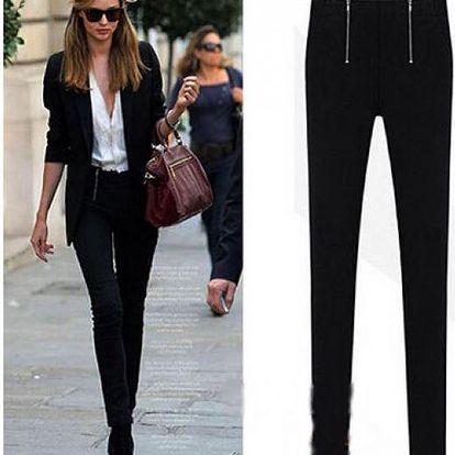 Kalhoty s bočními zipy Annabel!