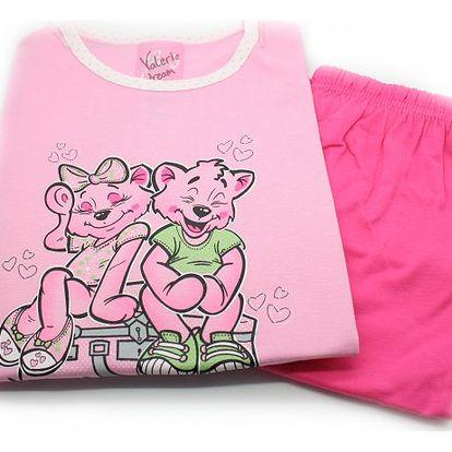 Dívčí pyžamo Kočičky - VÝPRODEJ
