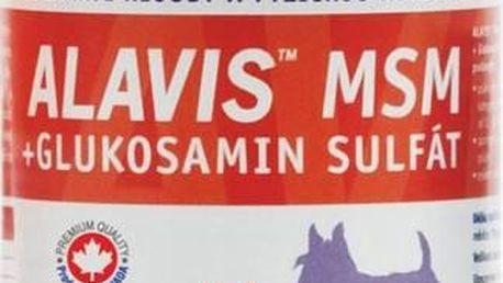 Tablety Alavis MSM+Glukosamin sulfát pro psy 60tbl
